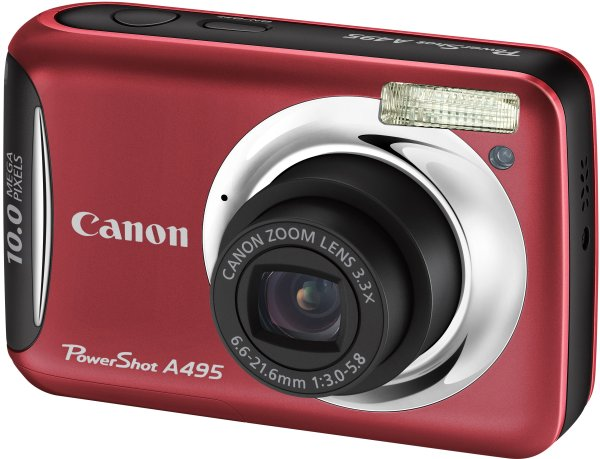 PowerShot A495 RED
