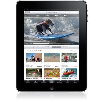 iPad apple video