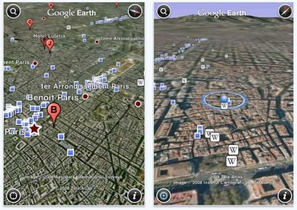 Google Earth pentru iPad