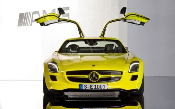 mercedes benz sls E-Cell
