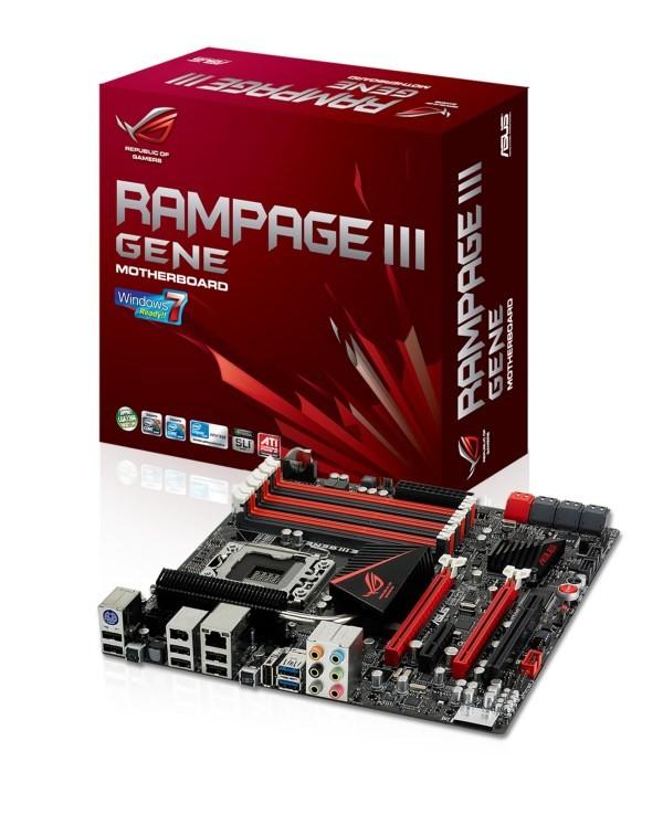 ASUS ROG Rampage III GENE