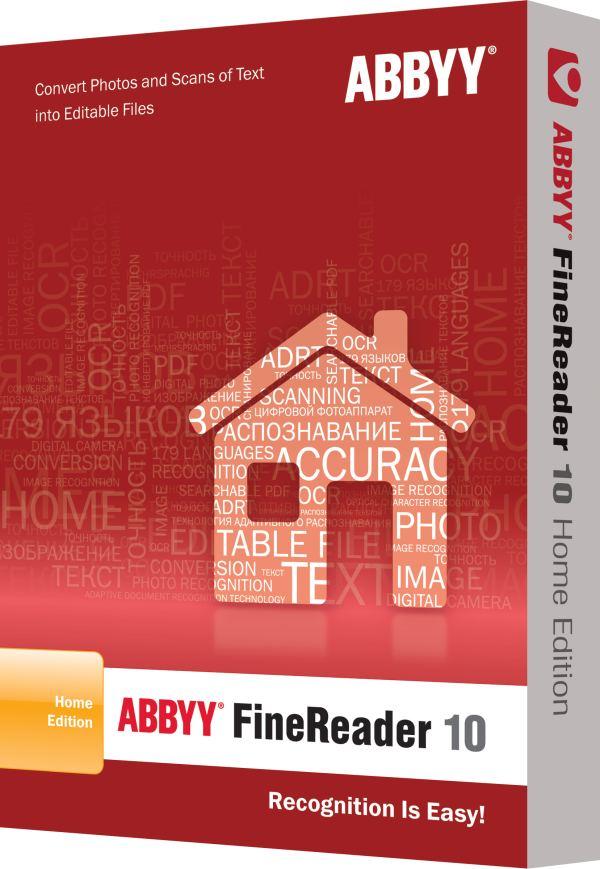 Abbyy Fine Reader 10