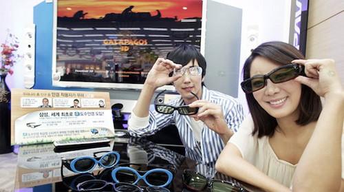 Samsung ochelari 3D