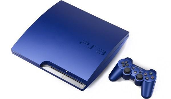Sony PS 3 Titanium Blue
