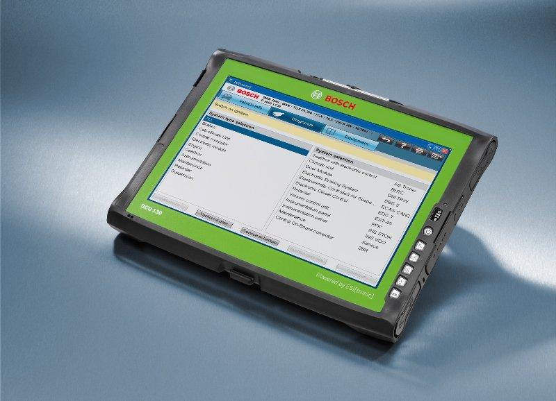 Tablet PC Bosch pentru diagnoza auto