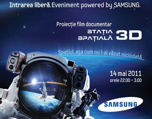 Noapte alba la SAMSUNG IMAX