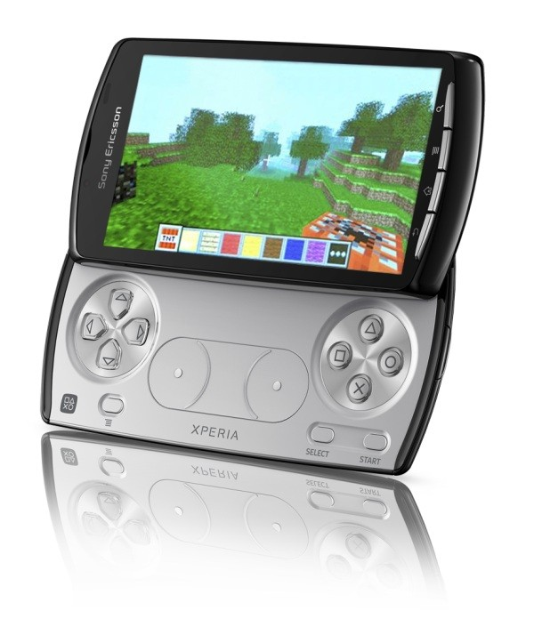 Xperia PLAY Minecraft