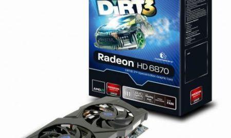 SAPPHIRE HD 6870 Ediţia Dirt3