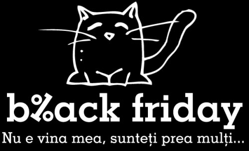 Black Friday la emag: site-ul a cedat