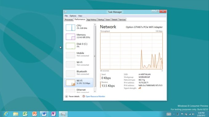 windows8 network