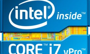 Logo Intel Core vPro