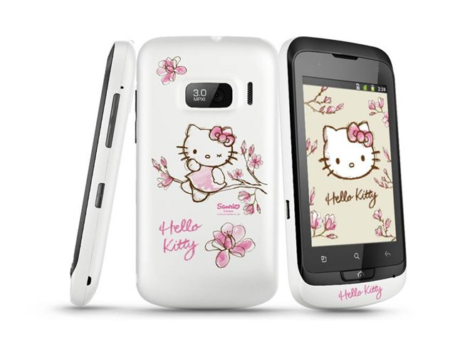 Alcatel One Touch 918 Hello Kitty