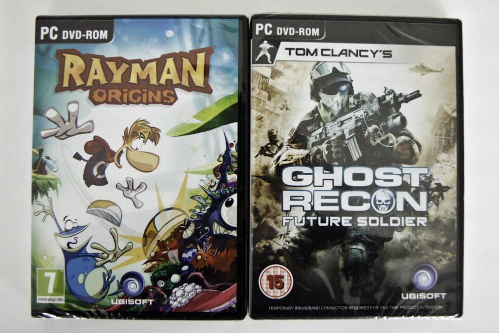 Premiile oferite: Ghost Recon si Rayman Origins