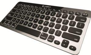 Logitech Bluetooth Easy-Switch Keyboard pentru Mac