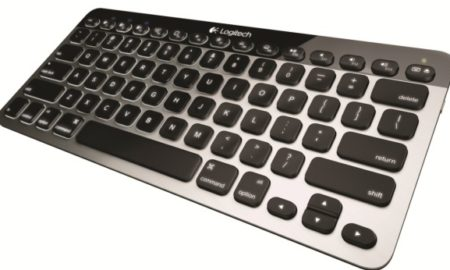 Logitech Bluetooth Easy-Switch Keyboard pentru Mac