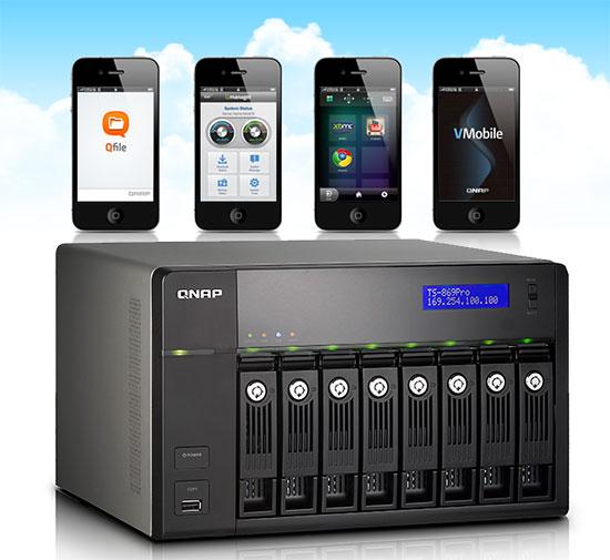 QNAP si aplicatii pentru mobil