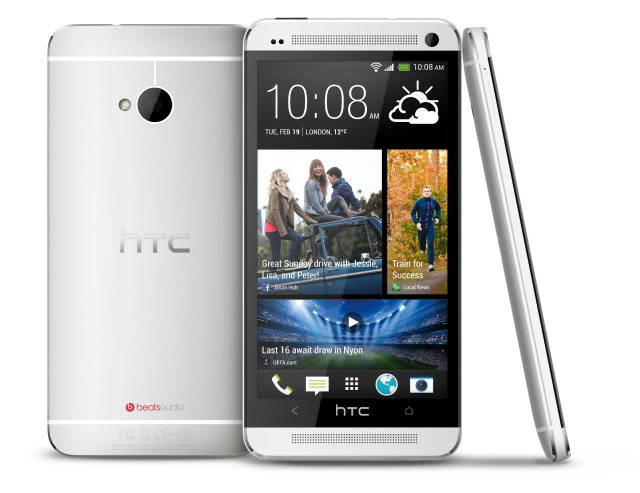 HTC One Silver