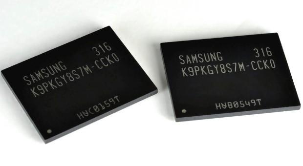 Samsung Vertical NAND