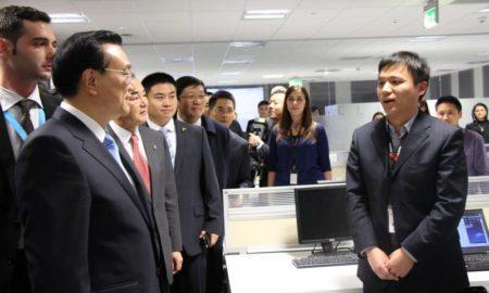 Premierul Chinei, Li Keqiang, a vizitat Huawei România
