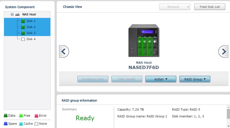 QNAP Turbo NAS TS-453 Pro RAID 5