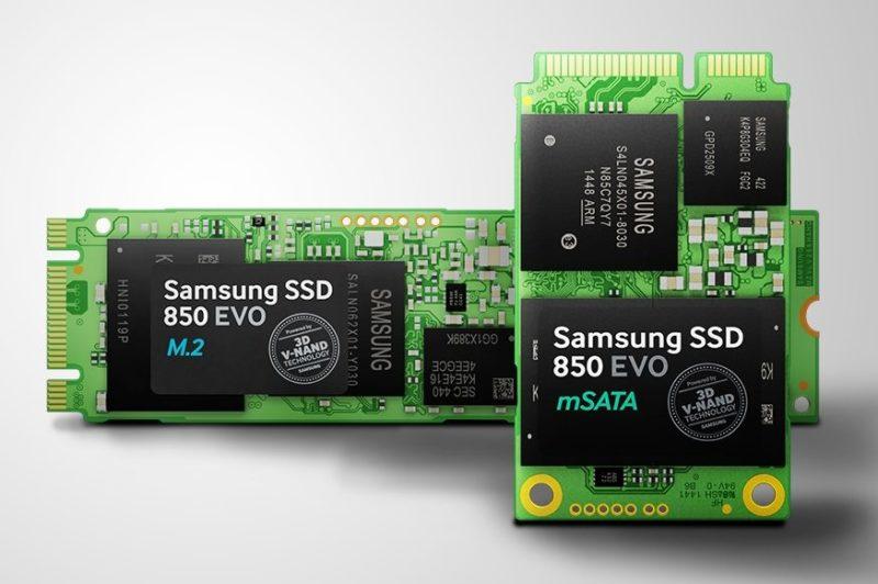 Samsung SSD 850 EVO M.2 și 850 EVO mSATA