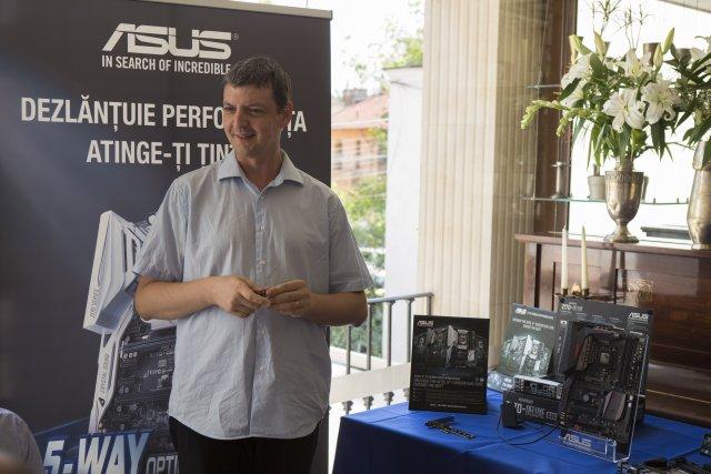 Tech Meeting ASUS - Noile placi de baza Z170