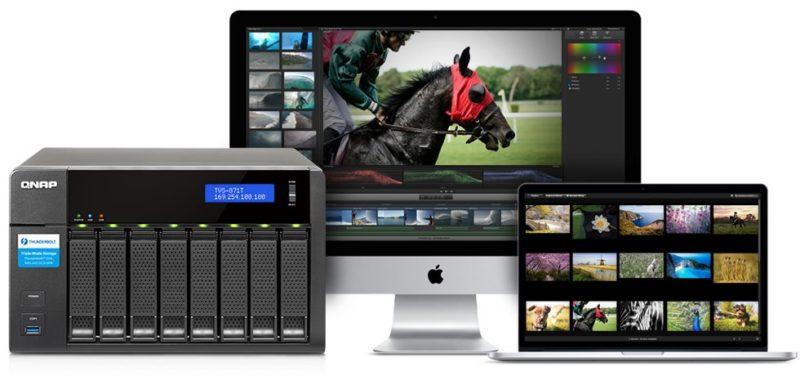 QNAP TVS-871T pentru Mac