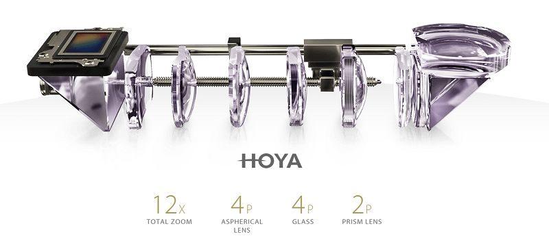 Optica Hoya cu prisme a telefonului ASUS Zenfone Zoom
