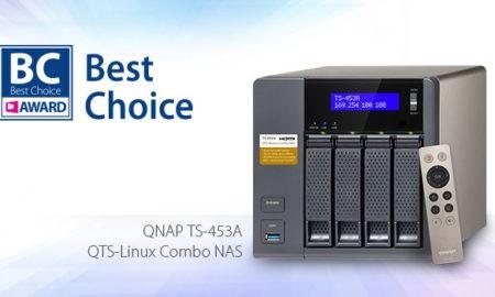 QNAP TS-453A a câștigat premiul COMPUTEX Best Choice Award 2016