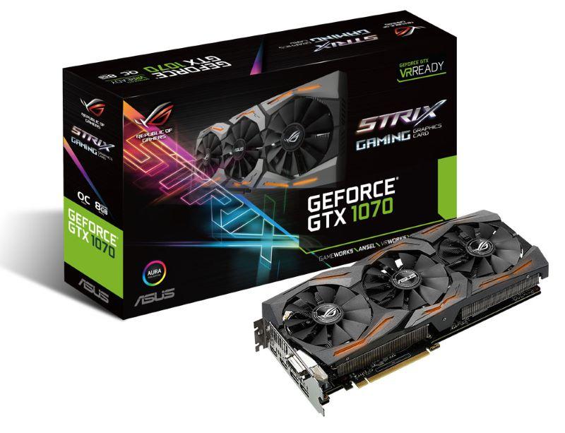 ASUS Strix GeForce GTX 1070