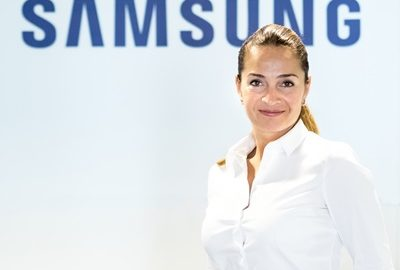 Simona Panait - Marketing Manager Samsung pe regiunea Europa de Sud Est
