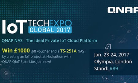 QNAP participă la IoT Tech Expo Global 2017