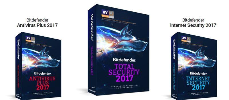 Soluții de securitate Bitdefender  - 2017