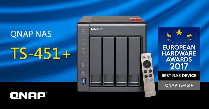 QNAP câștigă premiul pentru Cel mai bun dispozitiv NAS în cadrul European Hardware Awards