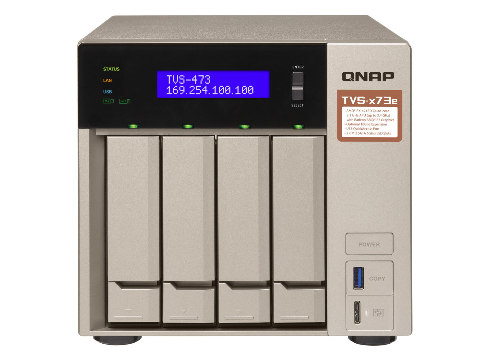 QNAP TVS-x73e