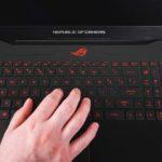 ASUS ROG GL702ZC - tastatură