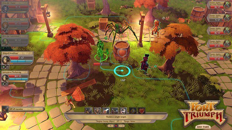Carbon și Cookie Byte Entertainment au lansat un nou joc: Fort Triumph