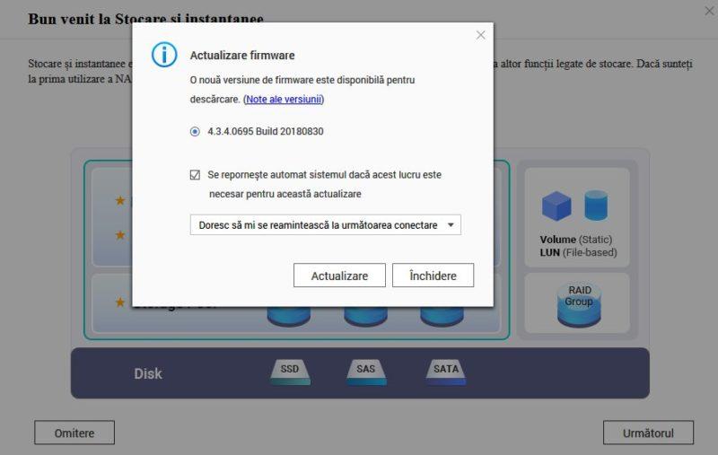 Actualizare firmware pentru QNAP TS-453B