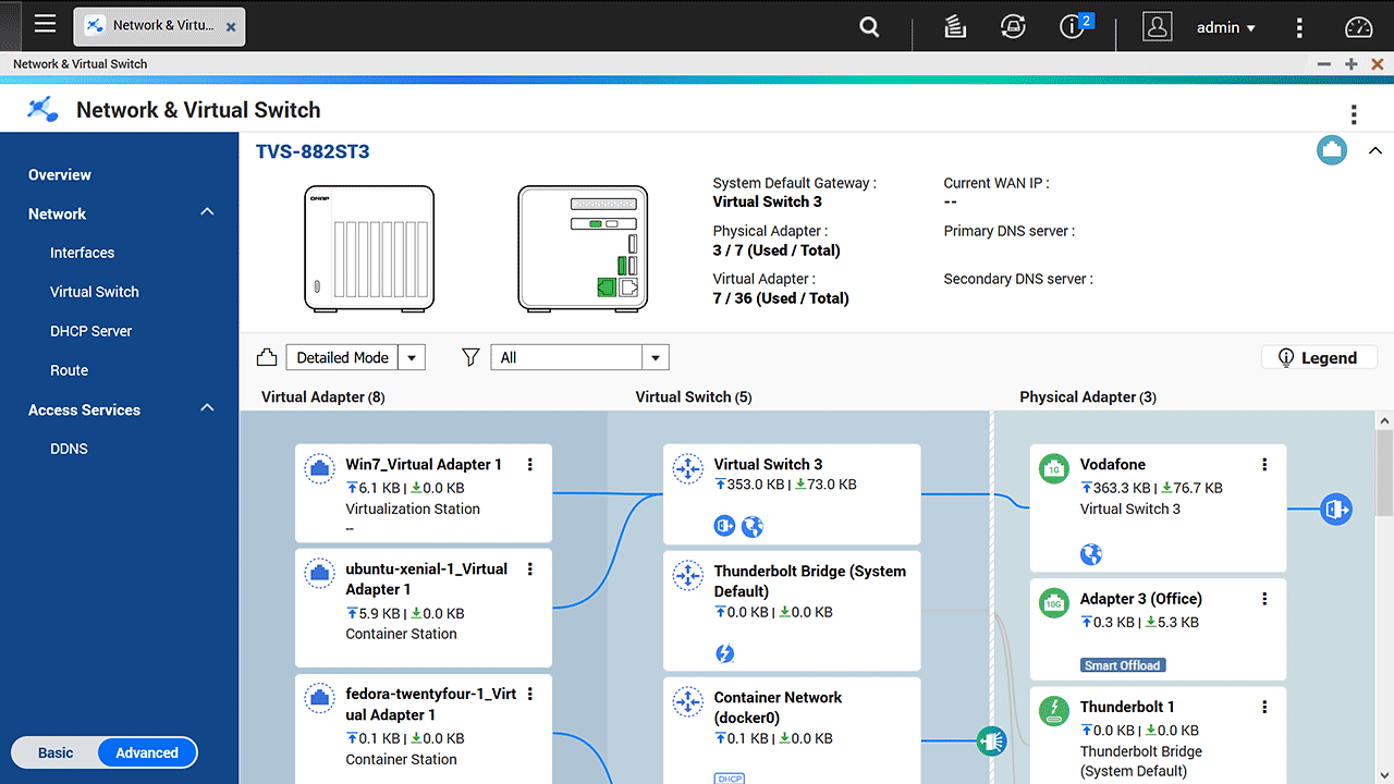QNAP QTS 4.3.5