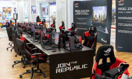 ASUS Join The Republic Plaza Romania