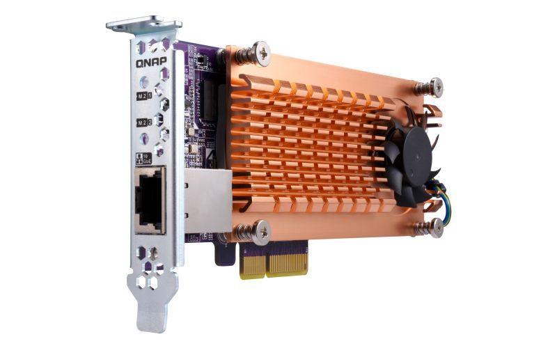 QNAP QM2-2S10G1TA
