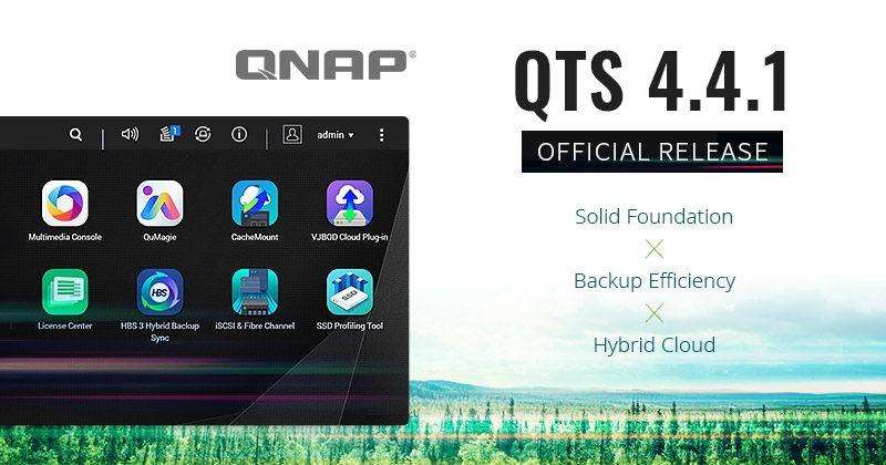 QNAP QTS 441