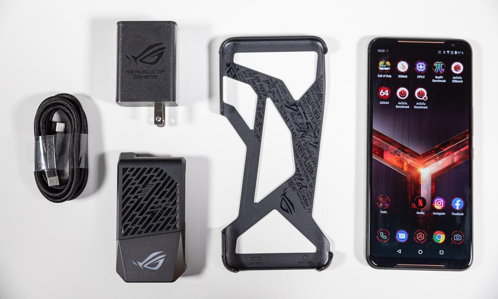 ROG Phone II, i carcasa sa