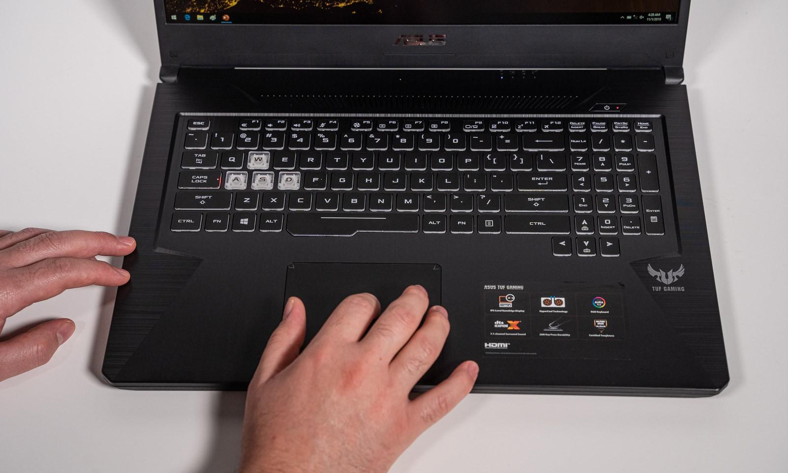 Laptop de gaming ASUS TUF Gaming FX705DU