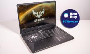 Laptopul de gaming ASUS TUF Gaming FX705DU e o alegere inteligentă