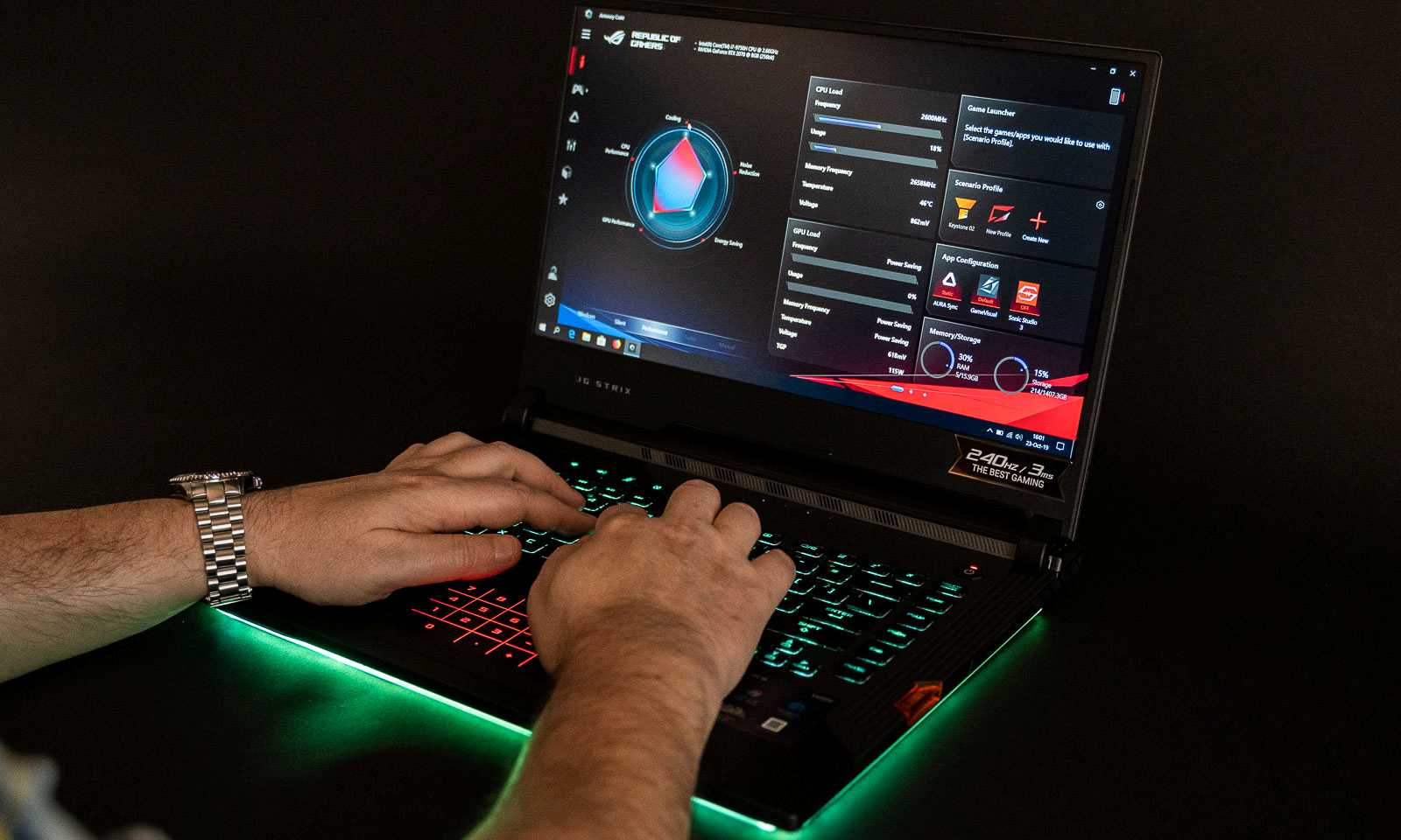 Laptop de gaming ROG Strix SCAR III G531GW