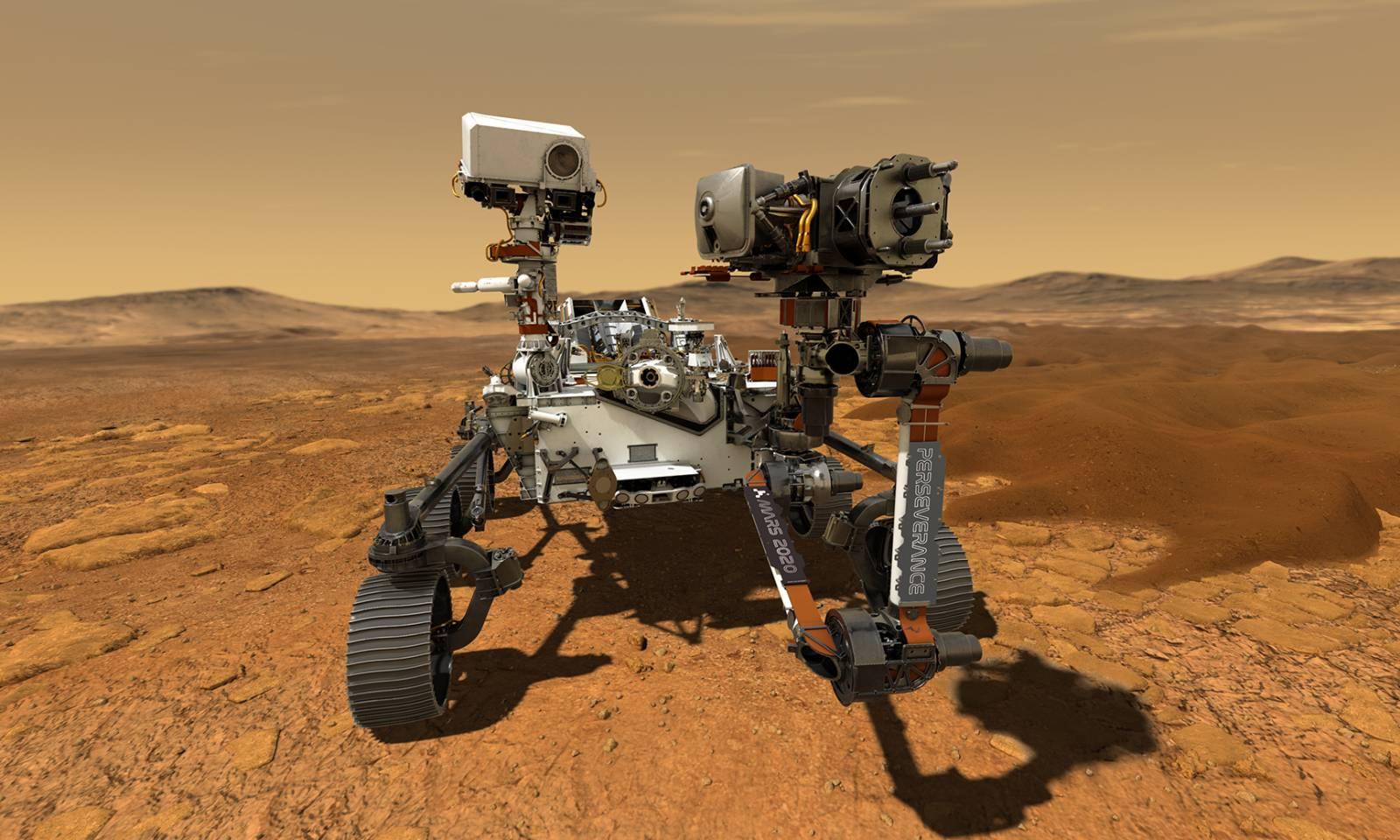 Robotelul NASA de pe Marte