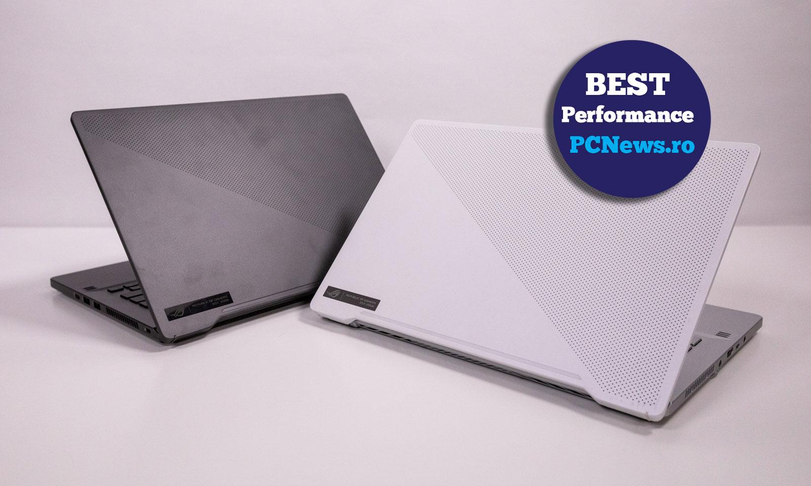 Laptopul ROG Zephyrus G14 GA401 premiat Best Performance