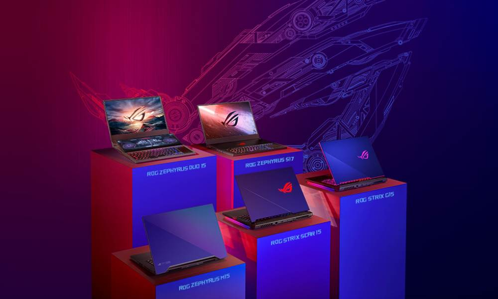 Republic of Gamers anunță linia de laptopuri de gaming cu procesoare Intel Core H