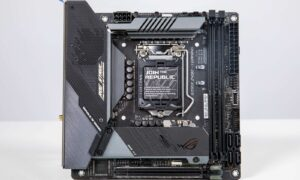 Placa de baza ROG Strix Z490i Gaming